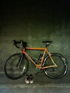 自転車スタンバイ